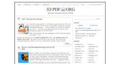 Preview of 3dpdf.org