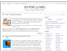 Tablet Preview of 3dpdf.org